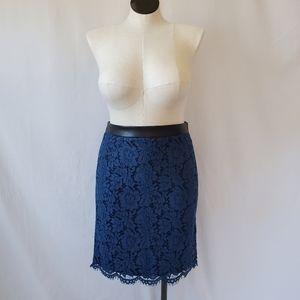 Brixon Ivy Lace Pencil Skirt